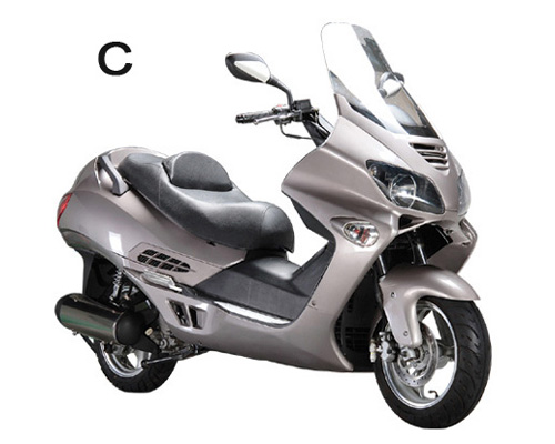 Avis scooter AZTRAL GTS 500